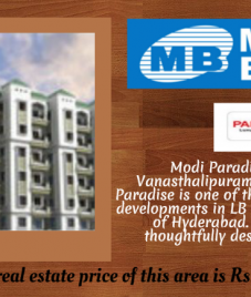 Modi Paradise- An abode of luxury and comfort