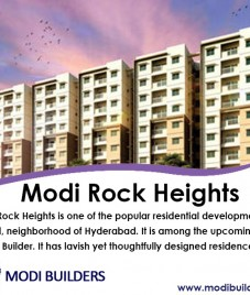 Modi Rock Heights- An ideal residential apartment with premium world-class features