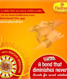 Make this Raksha Bandhan Special with Haldirams Nagpur