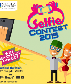Sharda University redefining freshers' welcome through selfie contest