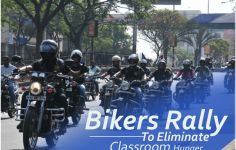 Akshaya Patra Organized Bikers Rally To Eliminate Classroom Hunger