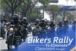 Akshaya Patra Organized Bikers Rally To Eliminate Classroom Hunger
