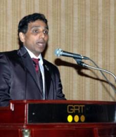 Dr J S Rajkumar delivered laparoscopic surgical workshop at Al Hayat Hospital
