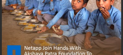 Netapp Join Hands With Akshaya Patra Foundation To Eliminate Classroom Hunger