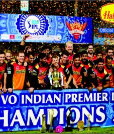 Haldirams congratulates Sunrisers Hyderabad for nailing IPL Trophy 2016