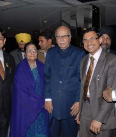 Grand wedding reception of Ramandeep Singh held at Radisson Blu New Delhi