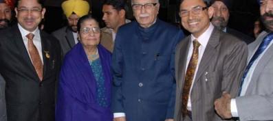 Grand wedding reception of Ramandeep Singh held at Radisson Blu New Delhi