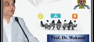 Evoking Achievements of a Prestigious Personality: Honorable Prof. Dr. Mukund Sarda