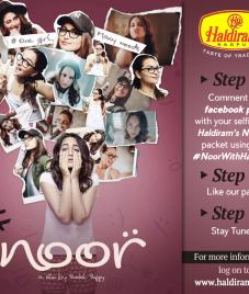 Haldiram's Nagpur comes up with Noor With Haldirams contest
