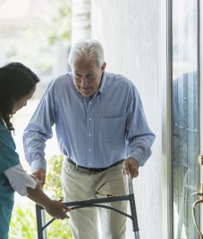 Falls can cause serious injuries among the elderly