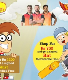 Haldirams Nagpur comes up with an exciting offer for all Sunrisers fans